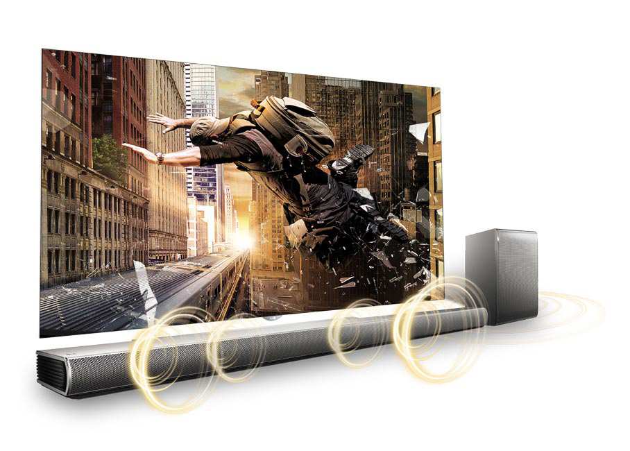 LG SH7 360W 2.1ch Sound Bar with Wireless Subwoofer - Factory ...