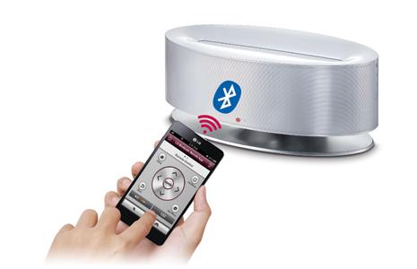 LG ND5630 30W Power Wireless Speaker w/ Dual Dock - Factory Second