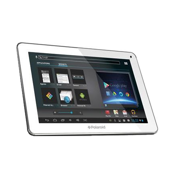 polaroid white 10 1 infinite tablet 4 gb tactile. Black Bedroom Furniture Sets. Home Design Ideas