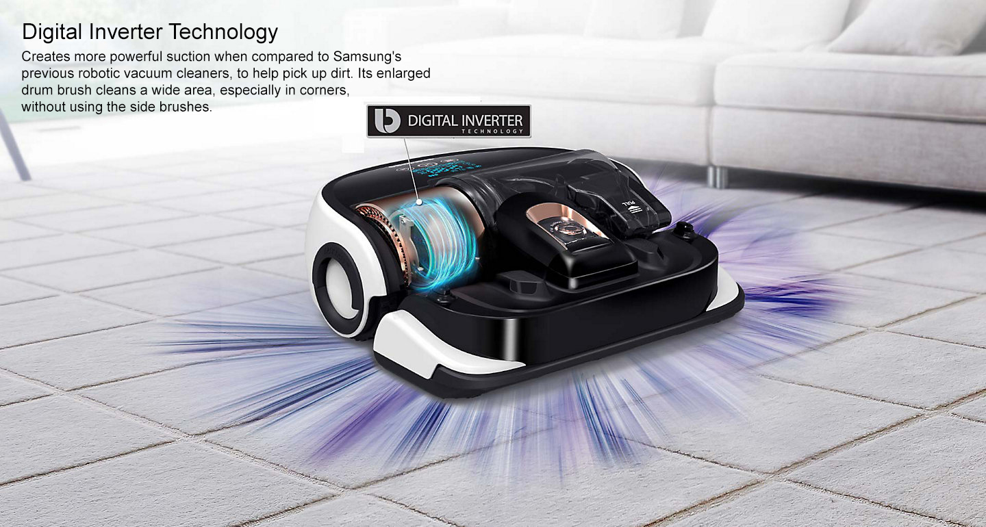 Samsung Sr20h9050u Powerbot Robotic Vacuum Cleaner P And S Electronics
