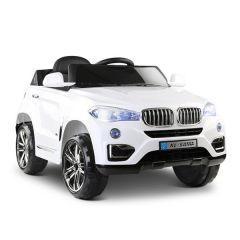 Brand New Kids Ride On Car White Electric Toy Replica BMW