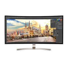 "LG 38UC99-W 38"" 21:9 UltraWide™ QHD IPS Curved Monitor - Carton Damaged"
