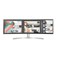 "LG 49WL95C-W 49"" (124cm) Curved UltraWide IPS Monitor w/HDR10 - Carton Damaged"