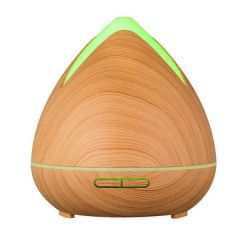 Brand New Purespa Cool Mist Ultrasonic Diffuser with 3 Essential Oils - Light Wood