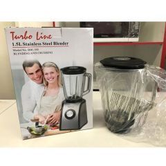 Brand New Turboline BBL-188 1.5L Stainless Steel Blender and Crushing