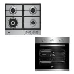 Brand New Beko HIC641051 60cm Vitroceramic 4 Zone Cooktop