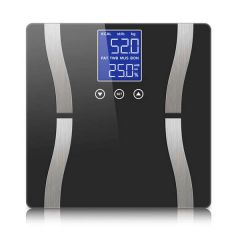 Brand New Soga Black Digital Body Flat Scale