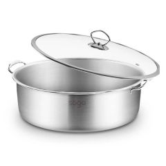 Brand New Soga 30cm Cast Iron Non-Stick Sizzle Frying Pan