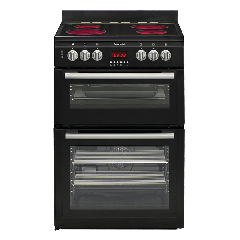 Euromaid CDDB60 600mm Black Upright Cooker - Factory Seconds 2nd