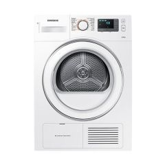 Samsung DV80H4000CS 8kg White Dryer with Smart Check - Factory Second 2nd