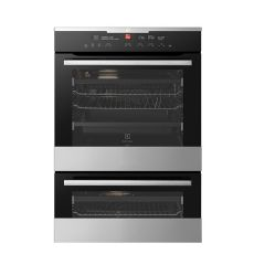 Electrolux EVEP627SC 60cm Pyrolytic Electric Double Oven - Factory Second 2nd