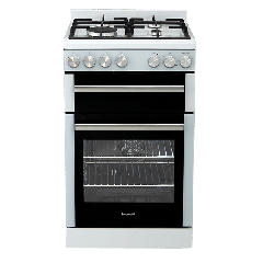 Euromaid FGO54W White Gas Oven + Cooktop - Factory Seconds 2nd