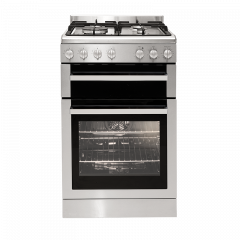 Euromaid FSG54S 540mm Stainless Gas Oven+Gas Cooktop - Factory Seconds 2nd