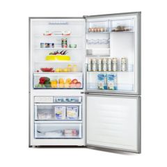 Hisense HR6BMFF514SW 514L Stainless Bottom Mount Fridge - Factory Seconds 2nd