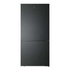 Hisense HR6BMFF519B 519L Black Steel Bottom Mount Fridge - Factory Seconds 2nd