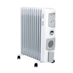 Brand New Dimplex OFC2400TIFW 2.4kW Arctic White Oil Column Heater w/Timer & Fan