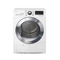 LG TD-C80NPW 8kg White Condensing Dryer w/Tag On function - Factory Second 2nd