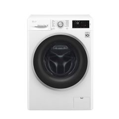 LG WD1475NCW 7.5kg White Front Loader Washing Machine - Factory Second 2nd