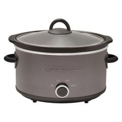 Brand New Westinghouse WHSC09KS Black Stainless 3.5L Slow Cooker