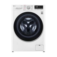 LG WV5-1275W 7.5kg White Front Load Washing Machine w/Steam - Factory Second 2nd