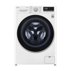 LG WV5-1409W 9kg White Front Load Washing Machine w/Steam - Factory Seconds 2nd