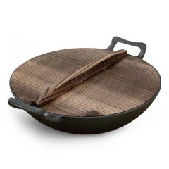 Brand New Soga 36cm Commercial Cast Iron Wok