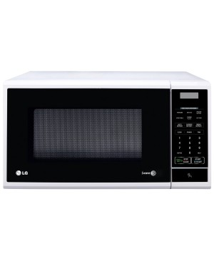 LG MS2540SR 25L White Round Cavity Microwave Oven - Factory Second 2nd