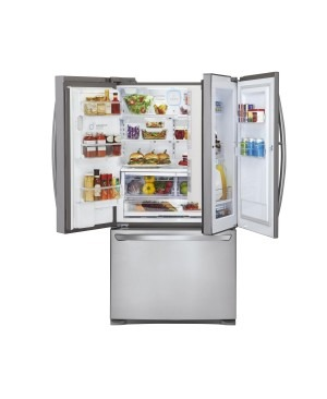 LG GR-D730SL 730L Stainless 3 Door French Refrigerator - Factory Second 2nd