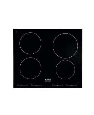 Blanco BIC64 Black Induction Square Electric Cooktop - Refurbished