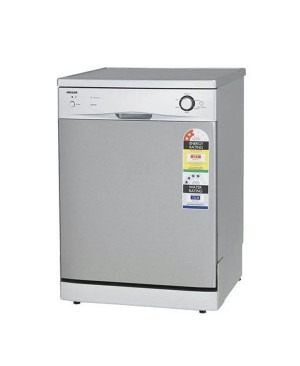 Brand New Heller HDW12SS Stainless 12 Place Setting Semi Automatic Dishwasher