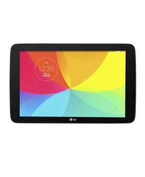 "LG Factory Second V700 Black/Red 10.1"" HD Screen, 1.2GHz Quad-Core Tablet - 2nd"