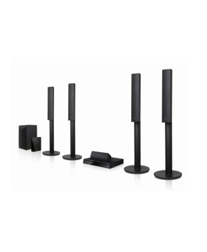 LG LHB655W 1000W 5.1ch 3D Blu-ray Home Theatre System - Factory Second 2nd