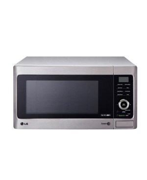 LG MS3882XRSK 38L Stainless Round Cavity Microwave - Factory Second 2nd